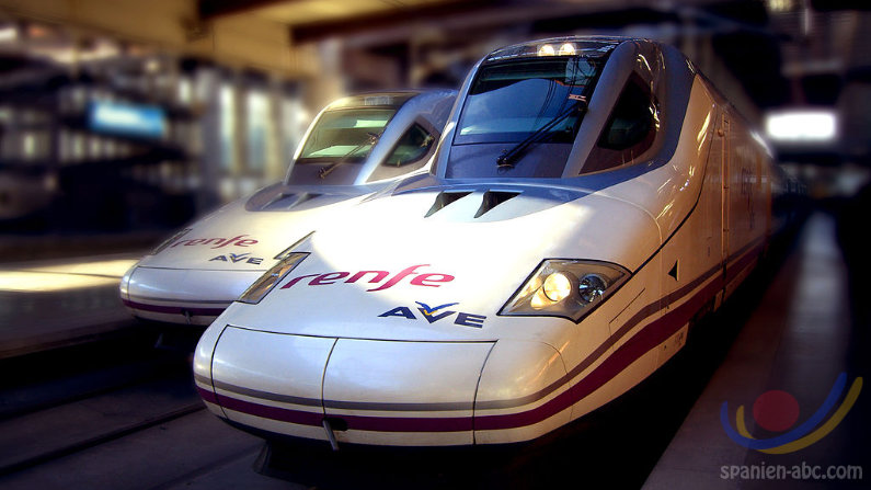 Busfahrten Bahnfahrten Spanien RENFE AVE Euromed